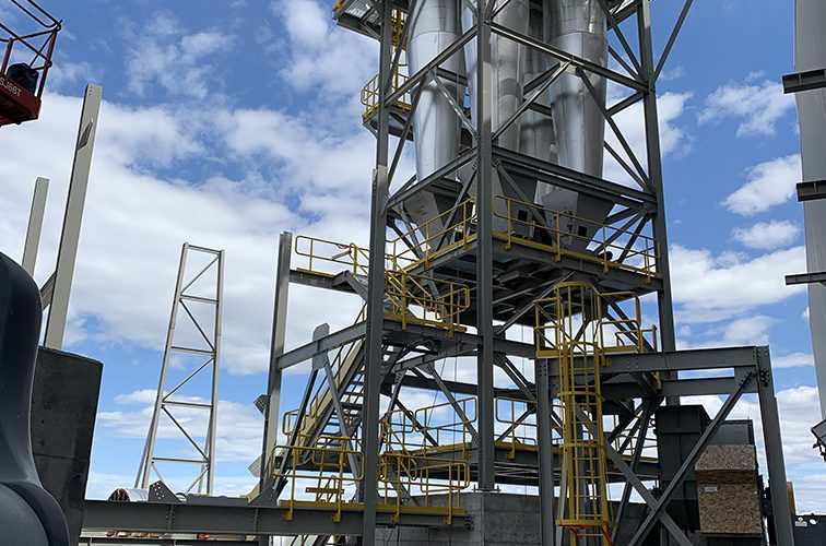 Fabrication of Cyclones and Structural Steel for Bio Mass Plant