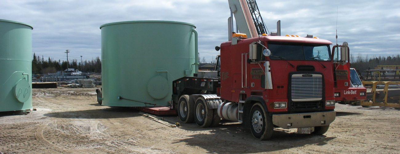 Fabrication et installation de réservoirs