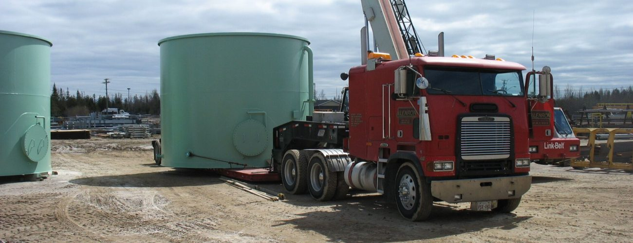 Tanks fabrication and installation