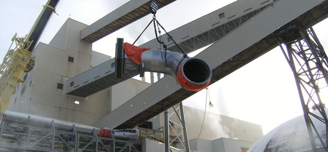 Fabrication, isolation et installation deconduits