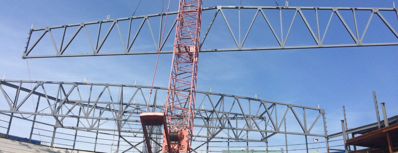 Steel Truss Fabrication and Erection