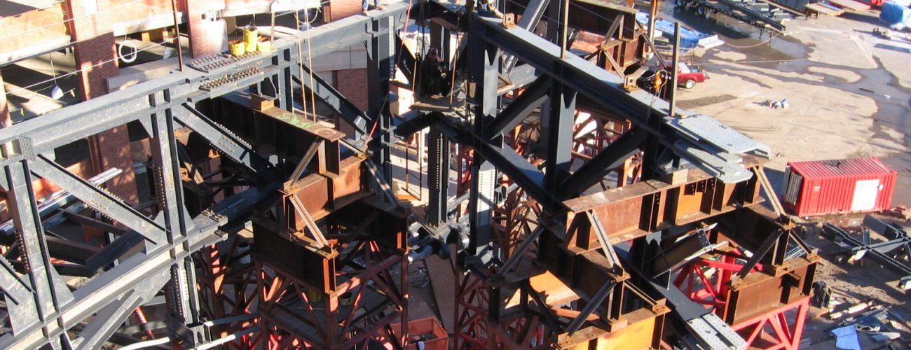 Fabrication de treillis – Yankee Stadium, New York