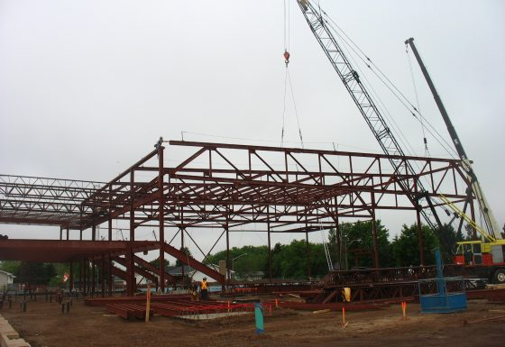 Structural Steel Fabrication and Installation