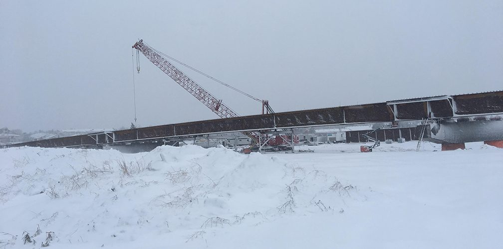 Bridge Installation – 2000 tons